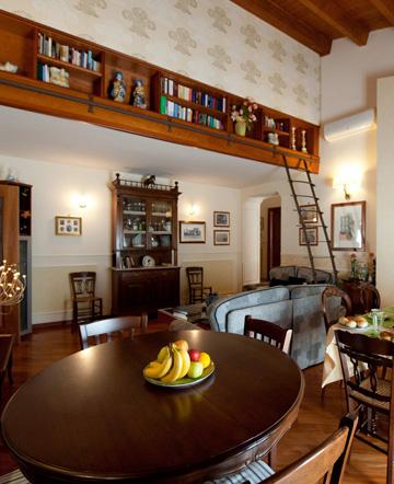 La sala Breakfast - B&B La Pilozza Infiorata a Caltagirone